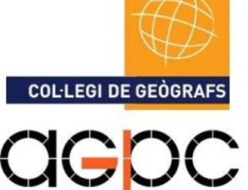 Celebració de les assemblees de l'AGPC i del Col·legi de Geògrafs a Catalunya.