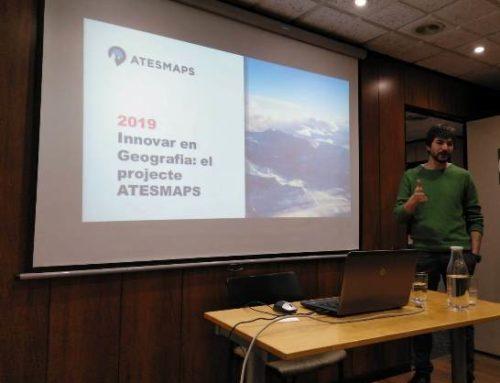 """Periple – Xerrada """"Innovar en Geografia el projecte ATESMAPS."""" A càrrec d'en Josep Ramisa."""