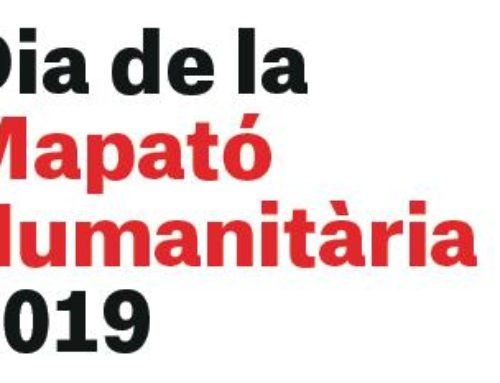 El Col·legi de Geògrafs i la AGPC us conviden a participar al dia de la Mapató Humanitària 2019