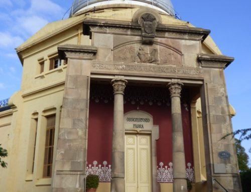 Visita a l'Observatori Fabra de Barcelona
