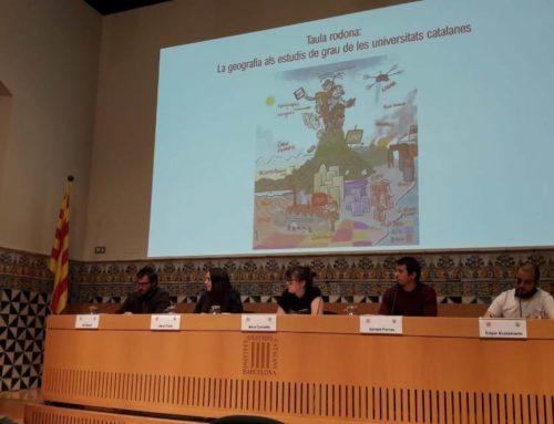 """Assistència al debat """"La geografia als estudis de grau de les universitats catalanes"""""""