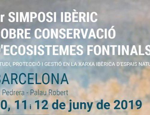 1er Simposi Ibèric de Conservació de Ecosistemes Fontinals