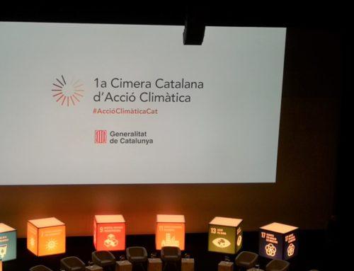 El Col·legi de Geògrafs i la AGPC assisteixen a la 1ª Cimera Catalana d'Acció Climàtica