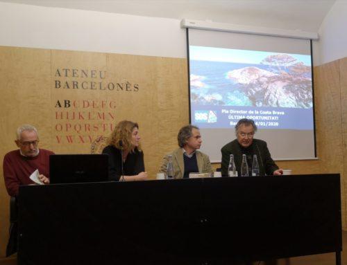 SOS Costa Brava presenta el Pla Director de la Costa Brava
