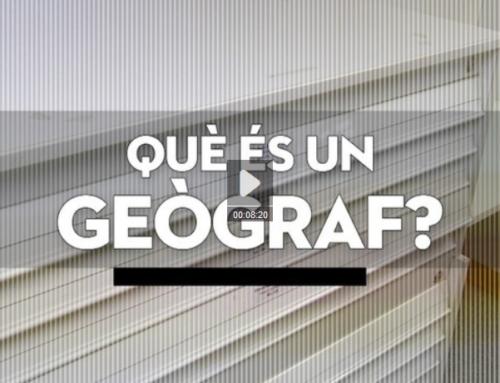 """Els geògrafs al programa """"Valor Afegit"""" de TV3"""