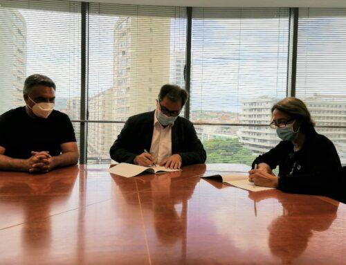 Signatura a l'adhesió de la Declaració de l'Agenda Urbana
