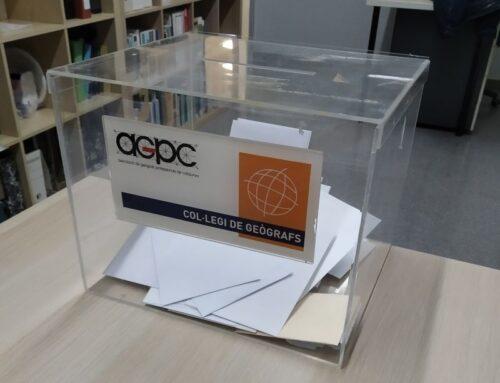 Proclamació provisional de les candidatures presentades per a la renovació de càrrecs de la DCGC i AGPC