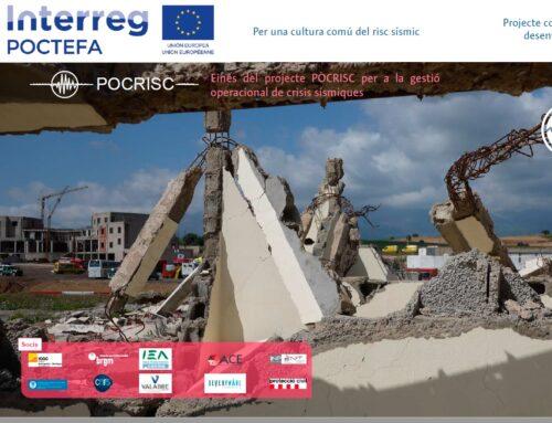 Seminari Web: Eines del projecte POCRISC per a la gestió operacional de crisis sísmiques